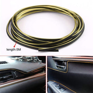Gold Beading size for car