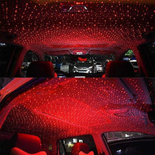 Load image into Gallery viewer, Car roof interior light in red color