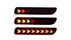 led bumper reflector