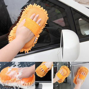 Sponge for car cleaning