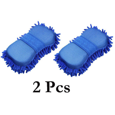 pair of microfibre cleaning cloth for car & Home