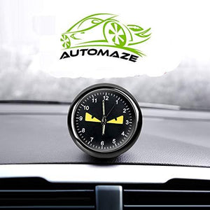Monster Car Dashboard clock
