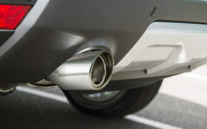 Installed Muffler tip show pipe for hyundai elite i20