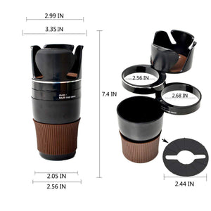 Multi cup holder size for all cars