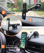 Load image into Gallery viewer, Multiple style uses for phone holder stand with mobile for car