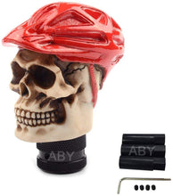 Load image into Gallery viewer, Red Hat Cap Skull Gear Knob For all car