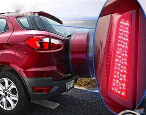Installed ON Reflector Brake Light For Ecosport