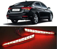 Load image into Gallery viewer, Black hyundai Verna with Spot fro reflector brake light