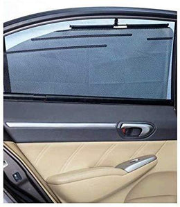 Installed Side Window Automatic Roller Sun Shades for Ford Fluidic Fiesta