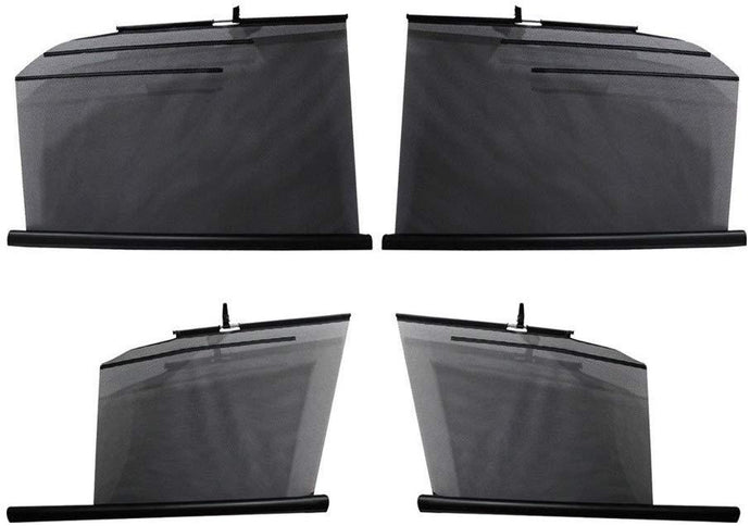 Side Window Automatic Roller Sun Shades for Mahindra Quanto