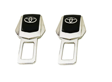 Pair of toyota seat belt buckle