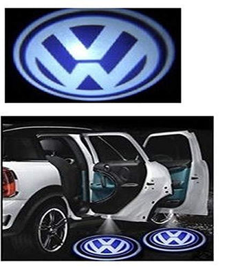 Volkswagen Logo in Car Door Light