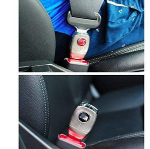 Installed Seat belt in Skoda Car