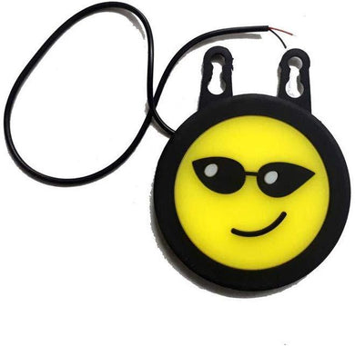 Smiley drl with suction cup in Sunglass for all cars