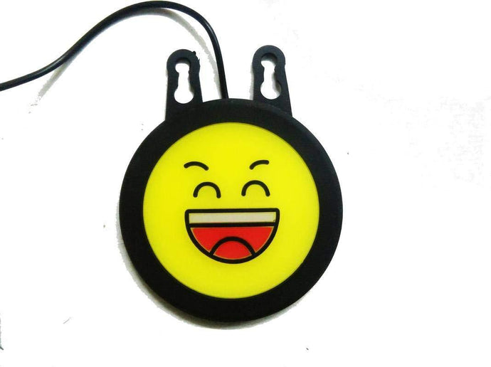 Smiley drl with suction cup for all cars