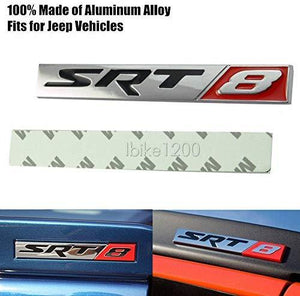 SRT8 Sport racing logo for car with 3m tape