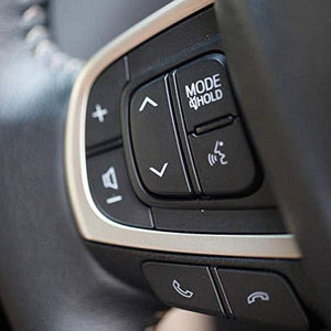 Black steering music control button for innova crysta