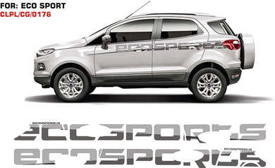 Graphics sticker for Ford Ecosport