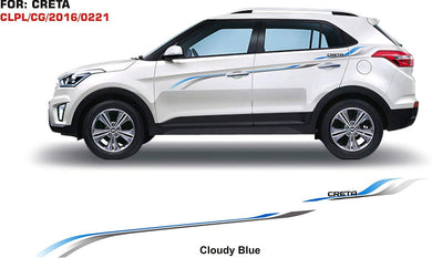 Graphics sticker for Hyunda Creta