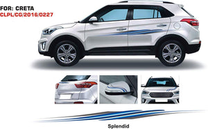Graphics sticker for Hyundai creta