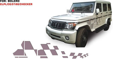 Graphics sticker for mahindra bolero