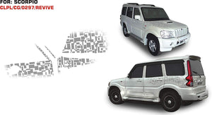 Graphics Stickers for mahindra scorpio M-hawk
