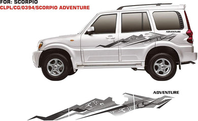 Graphics sticker for Mahindra Scorpio