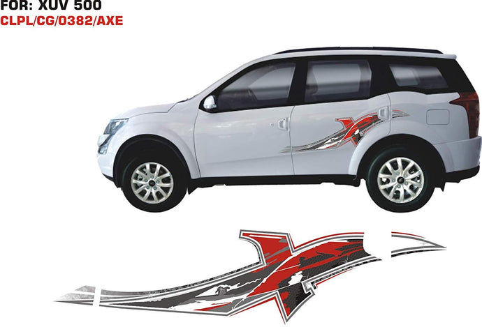Graphics sticker for mahindra xuv 500
