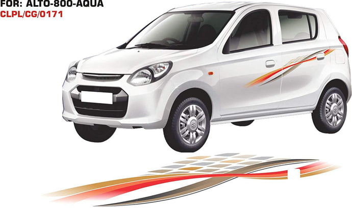 Graphics sticker for maruti suzuki alto