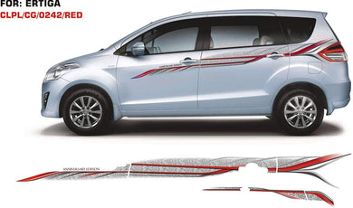 Graphics sticker for Maruti suzuki Ertiga