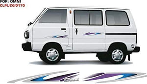 Graphics sticker for maruti suzuki omni