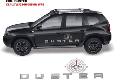 Graphics sticker for renault duster