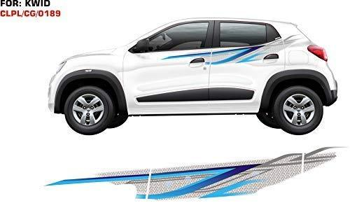 Graphics sticker for renault kwid