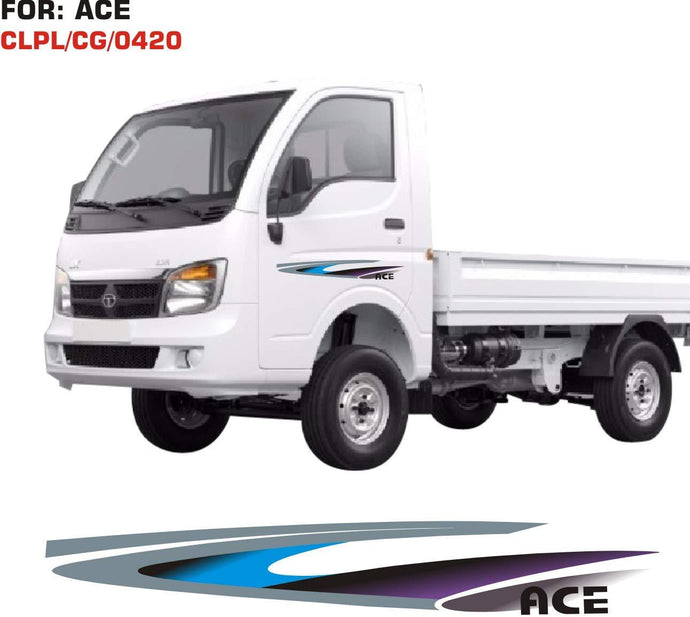 Graphics sticker for Tata Ace