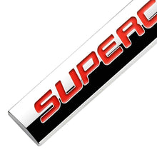 Load image into Gallery viewer, Red Supercharged logo for all car