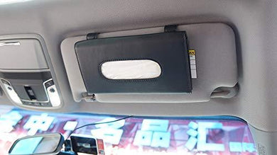 black tissue box holder for car