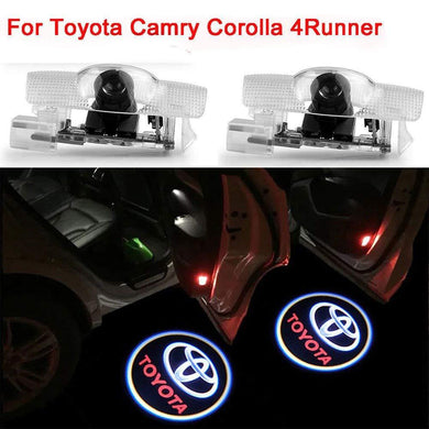 Toyota logo shadow light for car