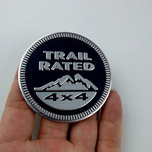 Trail rated logo Size-6 X 6 Cm