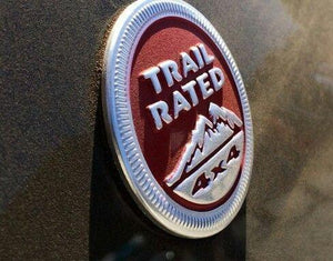 Trail rated logo for car