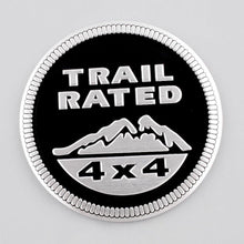 Load image into Gallery viewer, Trail rated logo for car