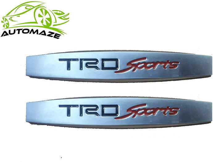 TRD Sport fender logo in metal body for all cars