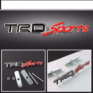 trd logo for all car in black colour