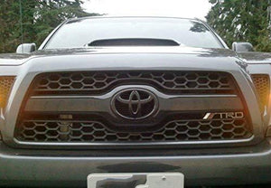 Installed trd logo for all car in matte black colour