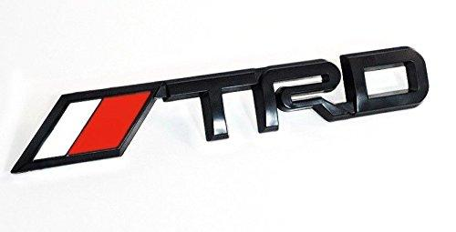 trd racing sport logo in Black colour