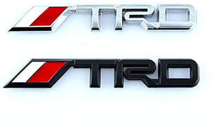 trd racing sport logo in silver colour