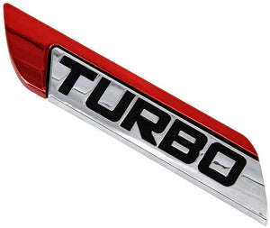 turbo metal logo in Red colour