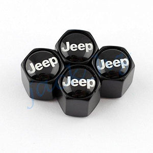 Four Tyre Valve cap for Jeep