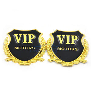 Vip Motor Logo in silver colour