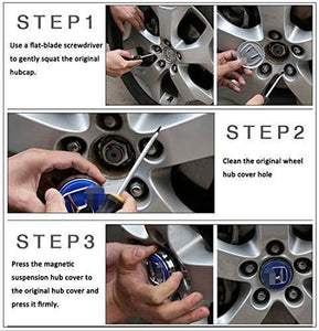 How to install wheel cover cap i bmw cars