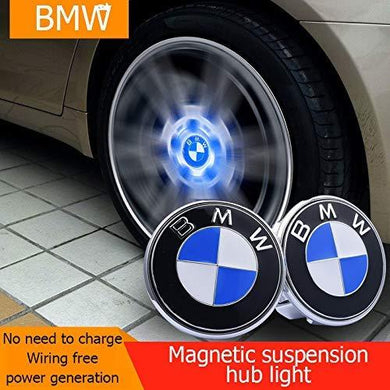 Wheel centre cover for bmw car and no need to charge wiring free power generation